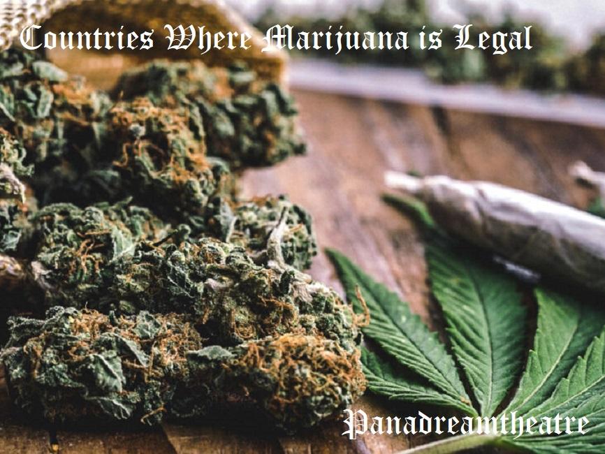 Сountries Where Marijuana is Legal