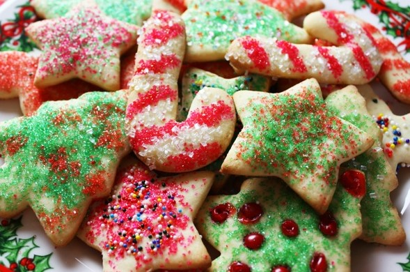 Christmas cookie edibles