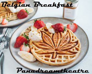 BELGIAN CANNABIS WAFFLES, HIGH STARTS WITH BREAKFAST
