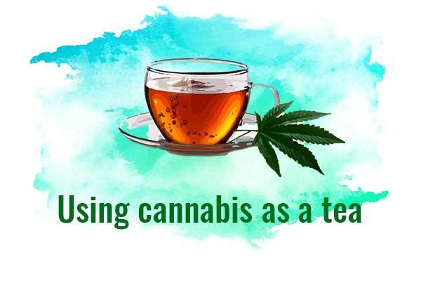 Using Marijuana Tea for Pain