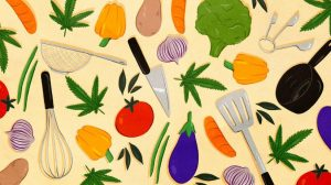 Food with weed. Recipes.
