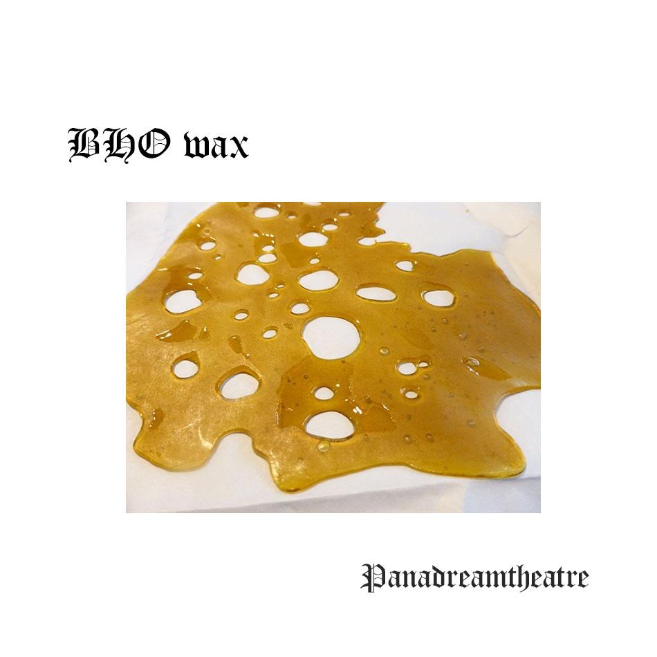 BHO wax