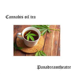 Cannabis oil tea