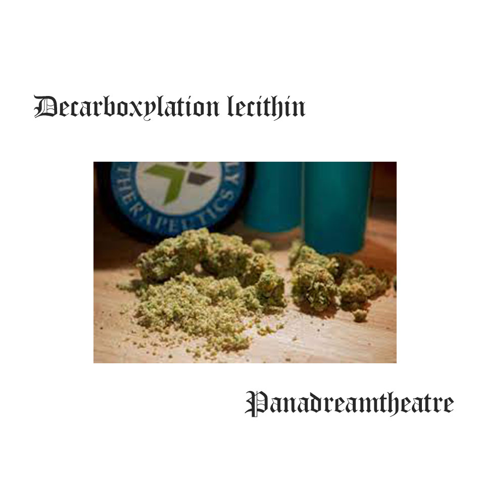 Decarboxylation lecithin