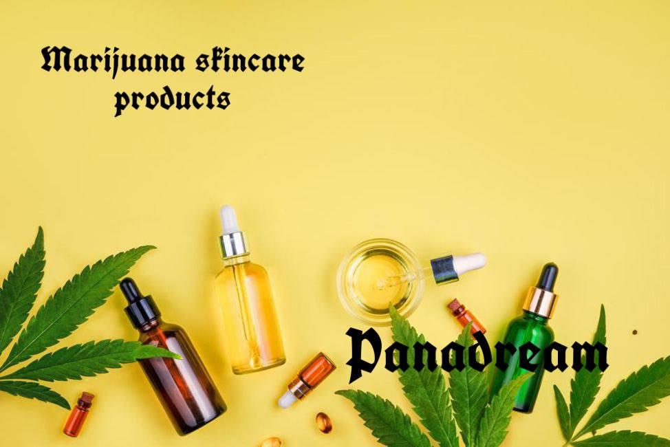 Marijuana skincare products