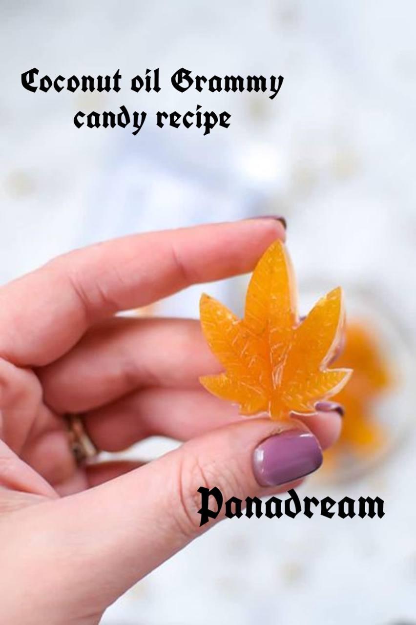 Coconut oil gummy candy recipe