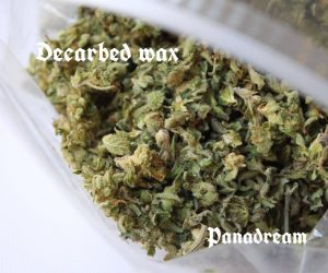 Decarbed wax