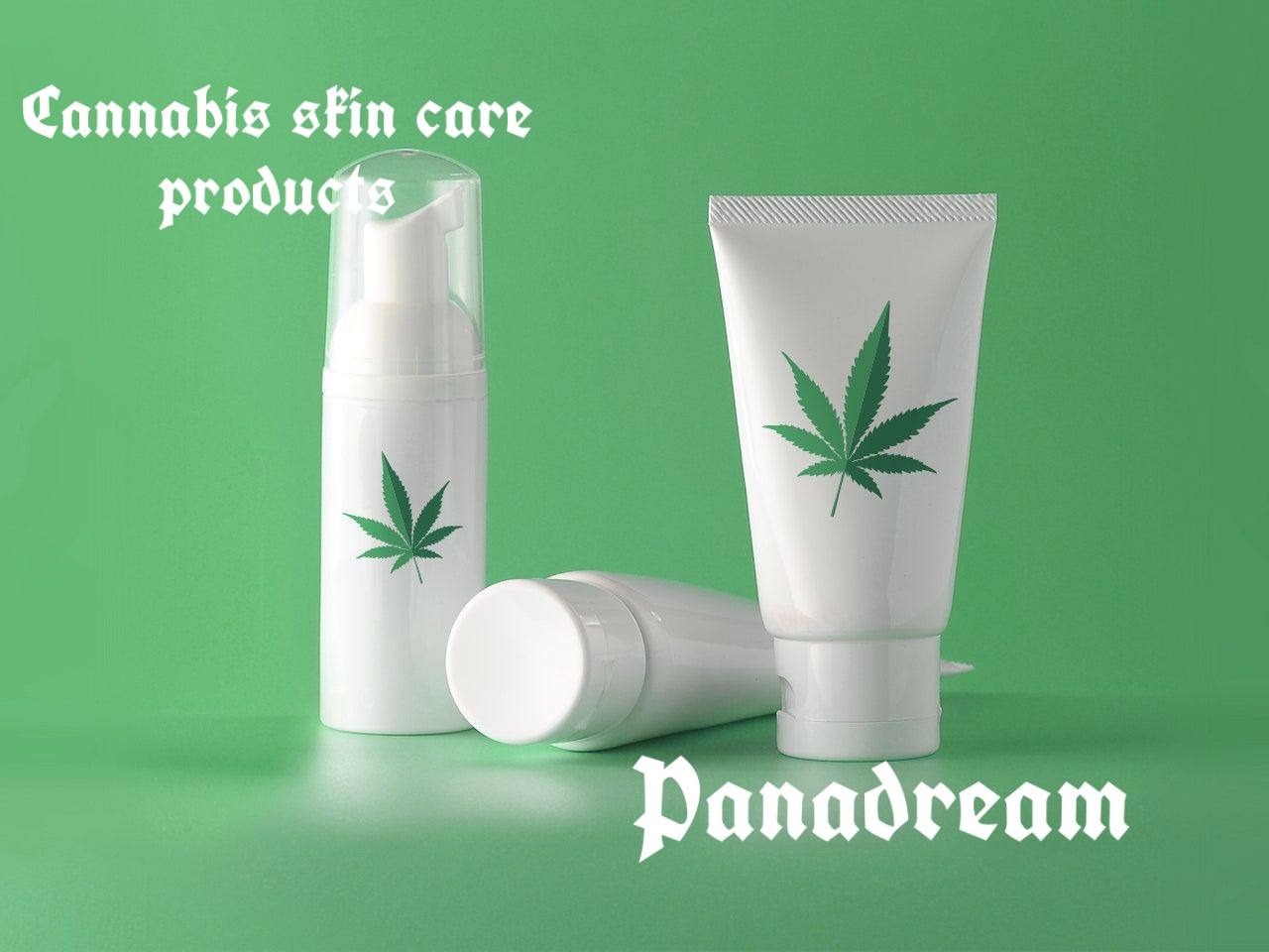 Сannabis skin care products
