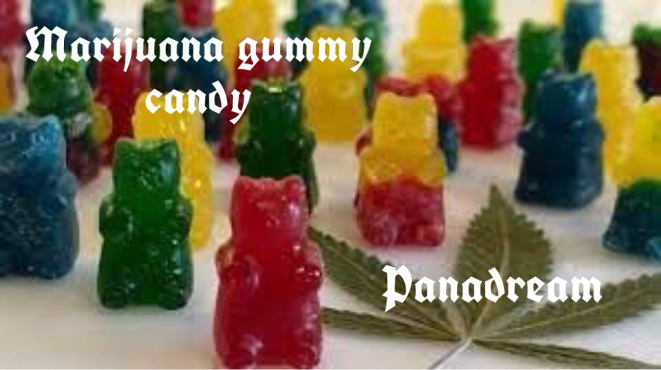 Gummy bears made with weed