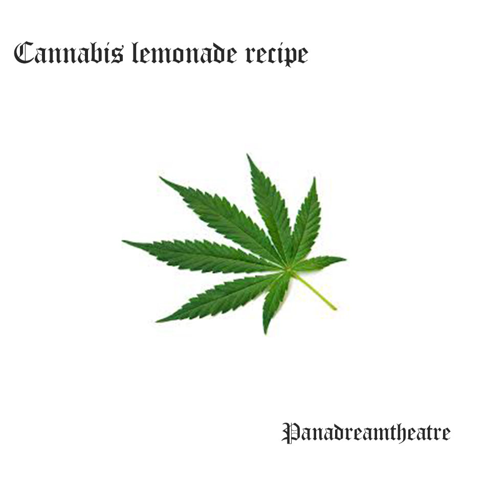 Сannabis lemonade recipe