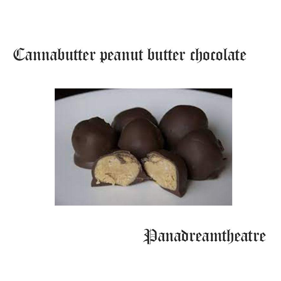 Cannabutter peanut butter chocolate chip cookies