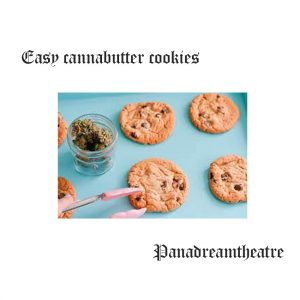 Easy cannabutter cookies
