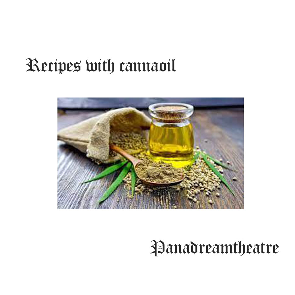 Recipes with cannaoil