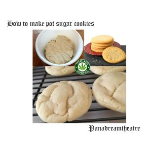 How to make pot sugar cookies