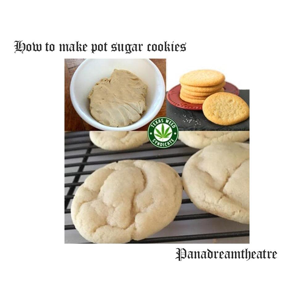 How to make pot sugar cookies