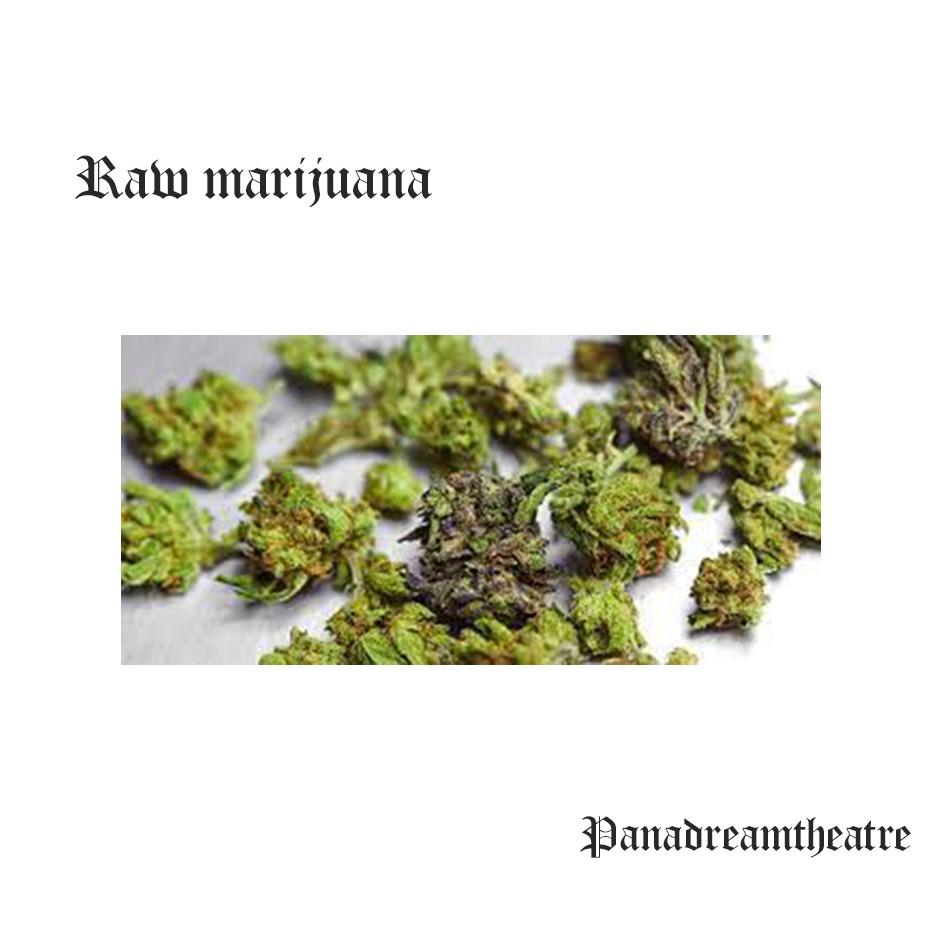 Raw marijuana