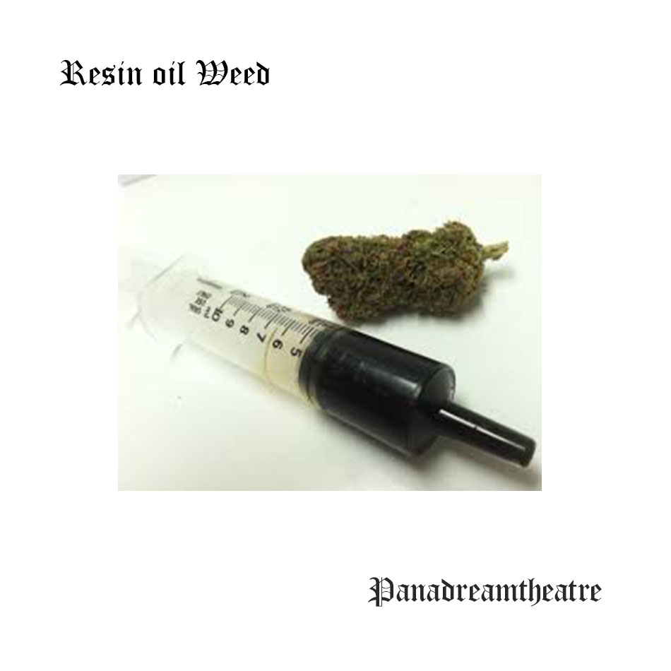 Resin oil Weed