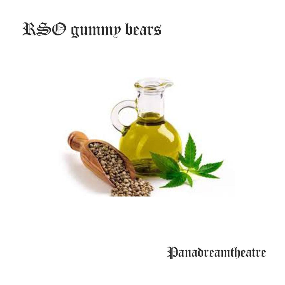 RSO gummy bears