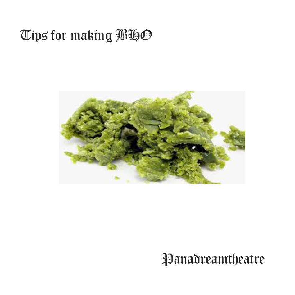 Tips for making BHO
