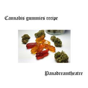 Cannabis gummies recipe