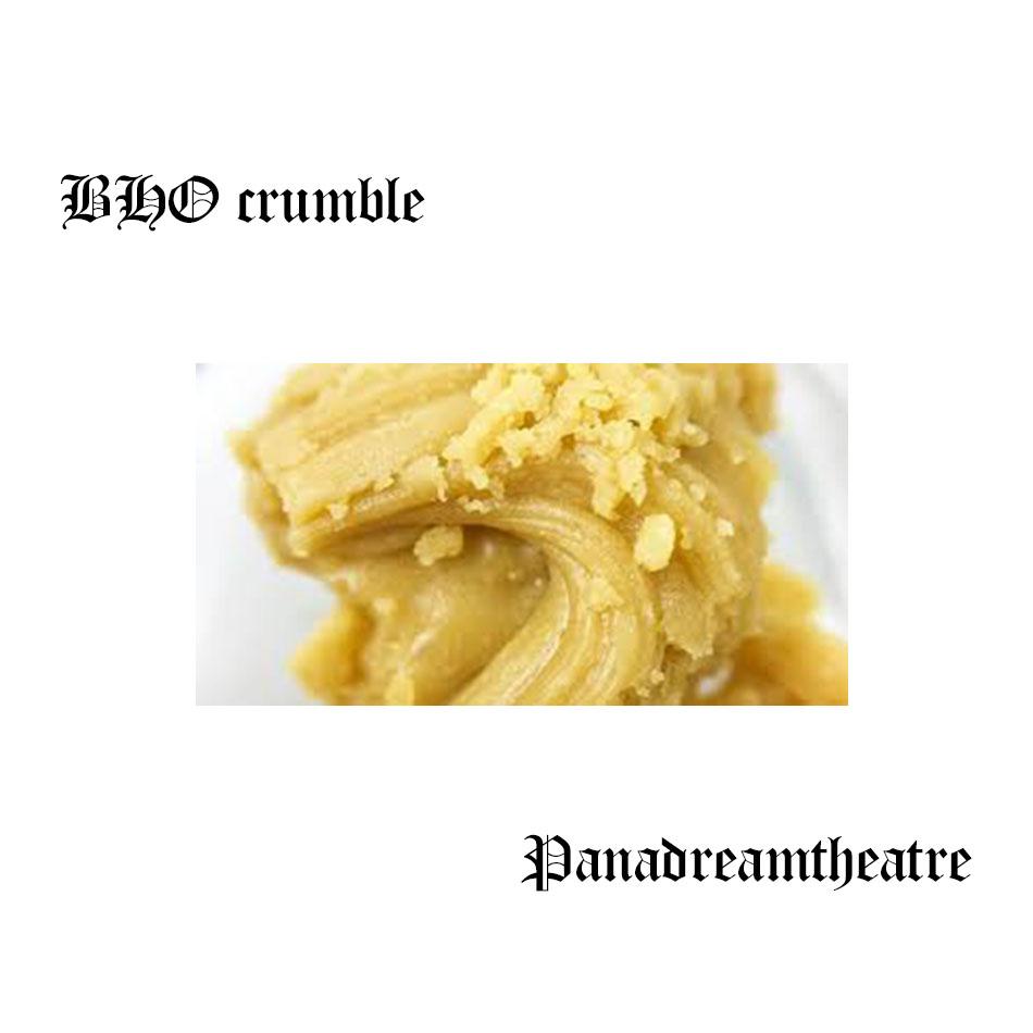 BHO crumble