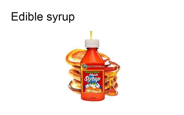 Edible syrup