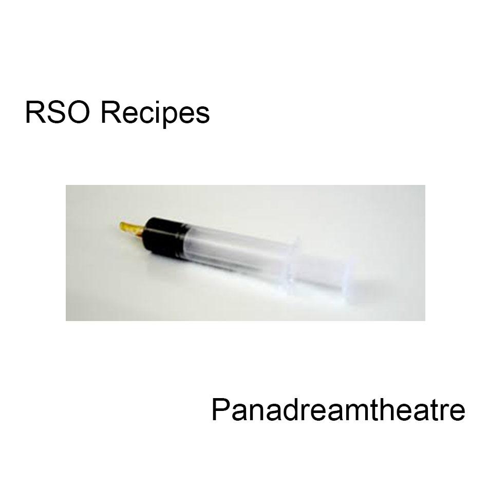 How to Make RSO: Recipes