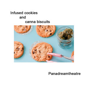 Infused cookies and canna biscuits