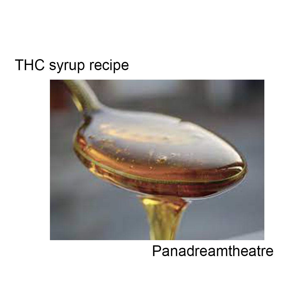 THC syrup recipe