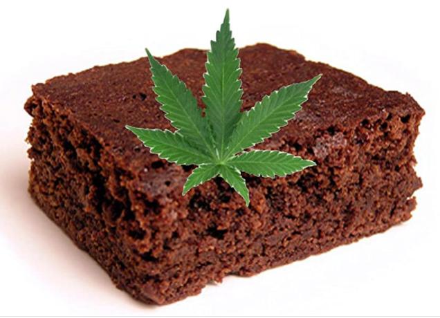thc chocolate cake