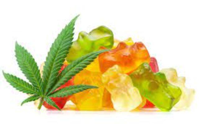 Marijuana infused gummy candy